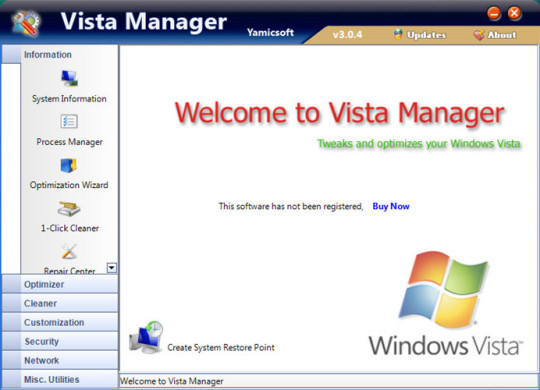 Come velocizzare windows vista