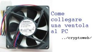 Come collegare una ventola al PC